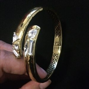 SILPADA Bracelet   Hinged w Crystal  Cobra KRB0077